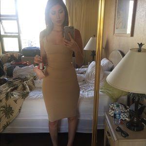 Thick nude fashion nova dress
